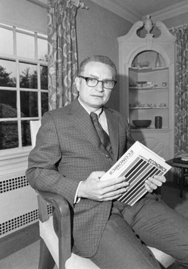 Paul Samuelson won the first American Nobel Prize in Economics in 1970 for his work in economic science. His 1948 text-book on economics, which popularized the theories of British economist John Maynard Keynes, is still in use.