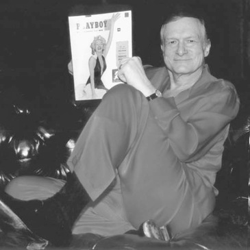Hugh Hefner published Playboy magazine and established Playboy clubs around the country, promoting a male fantasy lifestyle that influenced attitudes and behavior.