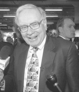 The folksy voice of common sense about money, Warren Buffett is also a financial genius whose canny stock investments have ranked him no. 3 on the Forbes Top Twenty list of The Richest People in the World.