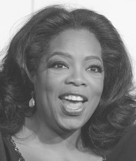 Oprah Winfrey changed the milieu of the television talk show from report talk to rapport talk, and now has launched her own TV network, OWN.