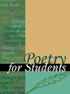 Poetry for Students, ed. , v. 12
