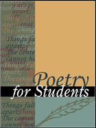 Poetry for Students, ed. , v. 25