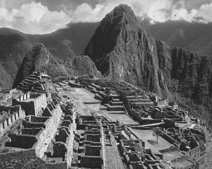 Ruins of the old Inca city