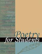 Poetry for Students, ed. , v. 38