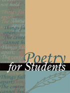 Poetry for Students, ed. , v. 50