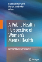 A Public Health Perspective on Women's Mental Health, ed. , v.
