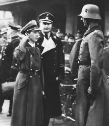 Joseph Goebbels, Propaganda Director for the Third Reich. (AP/Wide World Photos)