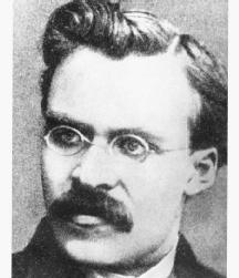German philosopher Friedrich Nietzsche. (Archive Photos, Inc.)