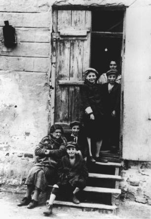 During World War II, thousands of Jewish families were forced from their homes into packed, filthy housing areas known as ghettos before being transported to concentration camps.
