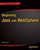 Beginning Java with WebSphere, ed. , v.