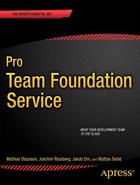 Pro Team Foundation Service, ed. , v.