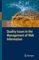 Quality Issues in the Management of Web Information