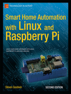 Smart Home Automation with Linux and Raspberry Pi, ed. 2, v.