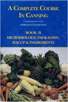 A Complete Course in Canning and Related Processes, Book 2, ed. 13