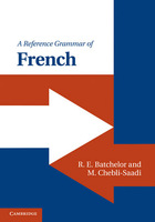 A Reference Grammar of French, ed. , v.