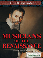 Musicians of the Renaissance, ed. , v.