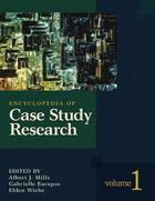 Encyclopedia of Case Study Research, ed. , v.