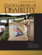 Encyclopedia of Disability, ed. , v.