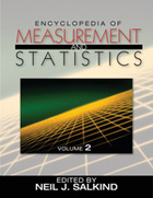 Encyclopedia of Measurement and Statistics, ed. , v.