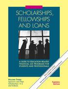 Scholarships, Fellowships and Loans, ed. 31, v.