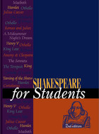 Shakespeare for Students, ed. 2, v.