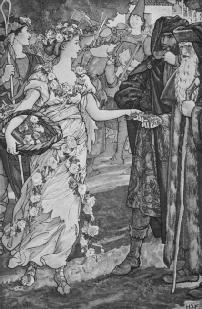 Illustration of Perdita, by H J Ford