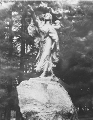 A bronze sculpture of Native American woman Sacagawea, who acted as an interpreter and advisor on the famous Lewis and Clark expedition. (Library of Congress.)