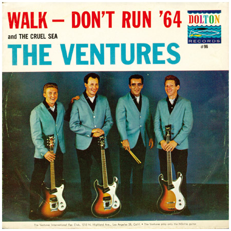 The Ventures. The Ventures scored a hit in 1964 with the surf-music staple Walk, Dont Run.