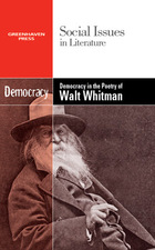 Democracy in the Poetry of Walt Whitman, ed. , v.