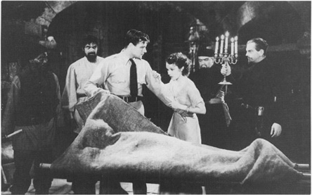 A scene from the film version of The Most Dangerous Game.
