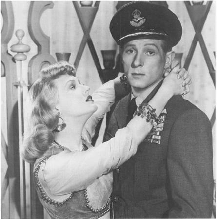 Danny Kaye as Walter Mitty.