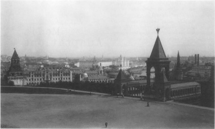 A view of Moscow in the summer of 1912.