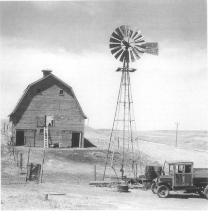 A farm near Beatrice, Nebraska, the state where Willa Cather spent part of her childhood and where some of her stories, including Neighbour Rosicky, are set.