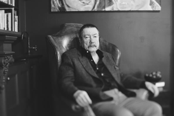 Photo of Robert B. Parker, author of the Spenser Series.