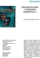 Traumatología y medicina deportiva, ed. 2