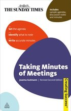 Taking Minutes of Meetings, Rev. 2nd ed., ed. , v.
