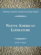 Native American Literature, ed. , v.