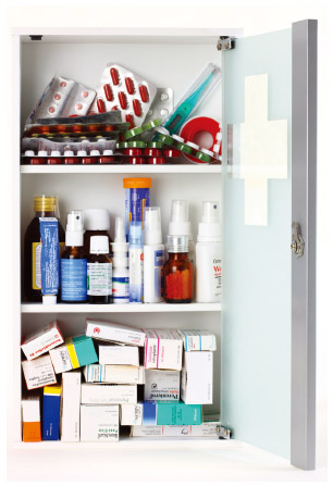The average medicine cabinet is filled with dozens of products to keep people well, but many products can be fatal if taken accidentally or not taken as directed.