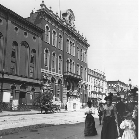 Tammany Hall in New York City was the headquarters for the powerful Tammany society. Through corruption and intimidation, Tammany Hall controlled politics in New York for seventy years