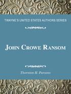 John Crowe Ransom, ed. , v.