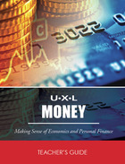 UXL Money, ed. , v.