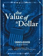 The Value of a Dollar, ed. 4, v.