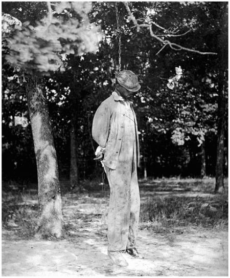 Lynching of African Americans was a common practice in the post-Reconstruction South.