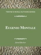Eugenio Montale, ed. , v.
