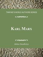 Karl Marx, ed. , v.