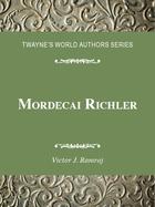 Mordecai Richler, ed. , v.