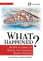 What Happened? An Encyclopedia of Events That Changed America Forever, ed. , v.