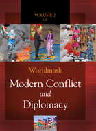 Worldmark Modern Conflict and Diplomacy, ed. , v.  Cover