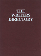 The Writers Directory 2008, ed. 23, v.