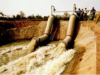 Although employment opportunities are strong in the United States, water planners and managers are needed worldwide. Irrigation projects, such as this one on Senegal's border, are among the resource development and utilization projects that require water resource professionals with various types of expertise.